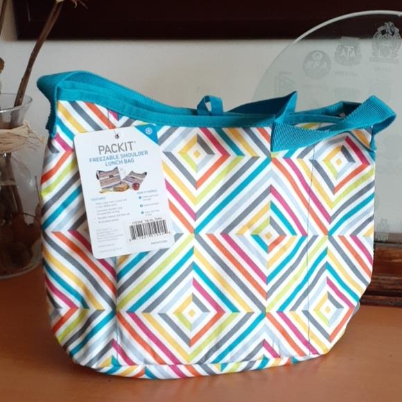 دائري مشكلة مكسورة Shoulder Lunch Bag Cabuildingbridges Org